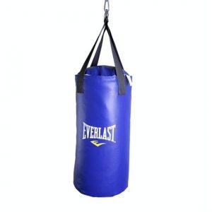 Saco de boxeo Azul everlast