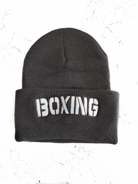 Gorro boxing plomo